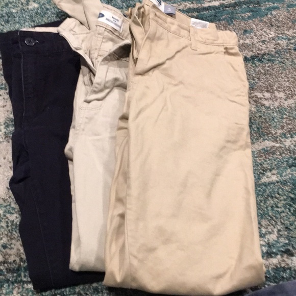 Old Navy Other - Pants casual khaki and navy sz 14- slim 3 pairs